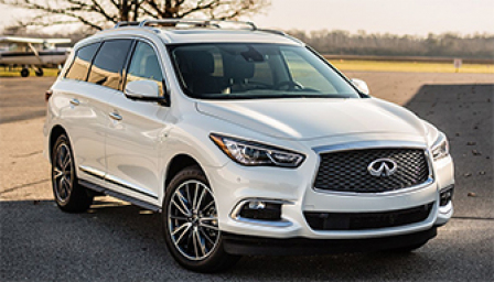 Infiniti QX60 Alloy Wheels and Tyre Packages.