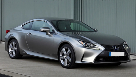 Lexus RC 300h Alloy Wheels and Tyre Packages.