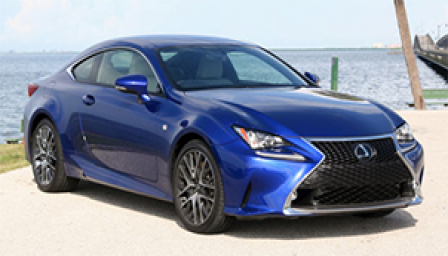 Lexus RC 350 Alloy Wheels and Tyre Packages.