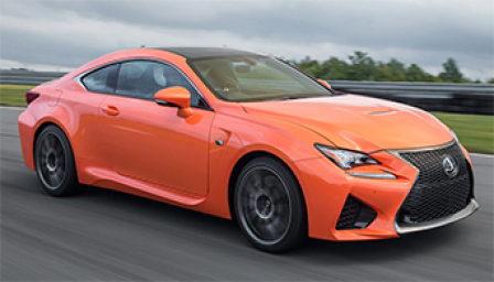 Lexus RC F Alloy Wheels and Tyre Packages.