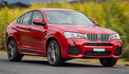 BMW X4 Alloy Wheels and Tyre Packages.