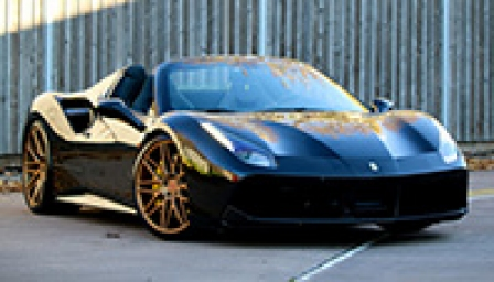 Ferrari 488 Alloy Wheels and Tyre Packages.