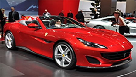 Ferrari Portofino Alloy Wheels and Tyre Packages.