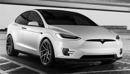 Tesla Model X Alloy Wheels and Tyre Packages.