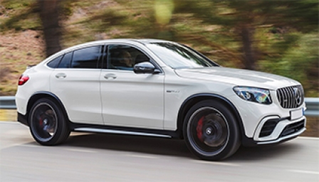 Mercedes GLC Coupe (AMG) Alloy Wheels and Tyre Packages.