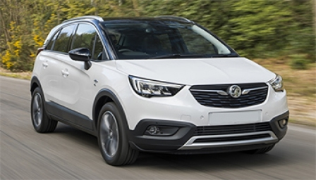 Vauxhall (Opel) Crossland X Alloy Wheels and Tyre Packages.