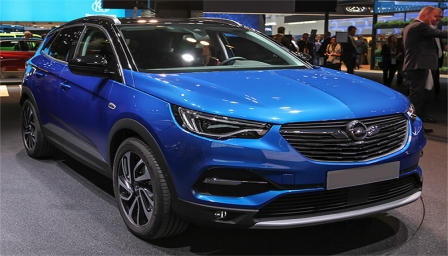 Vauxhall (Opel) Grandland X Alloy Wheels and Tyre Packages.