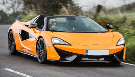 McLaren 570S Spider Alloy Wheels and Tyre Packages.