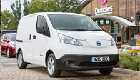 Nissan e-NV200 Alloy Wheels and Tyre Packages.