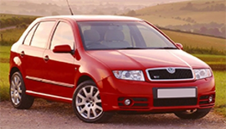 Skoda Fabia VRS Alloy Wheels and Tyre Packages.