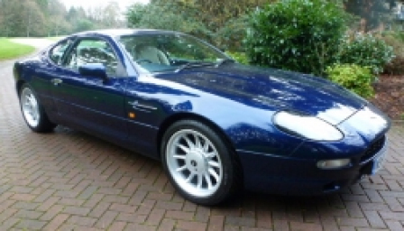Aston Martin DB7 3.2 Alloy Wheels and Tyre Packages.