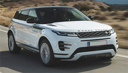 Land Rover Range Rover Evoque Alloy Wheels and Tyre Packages.