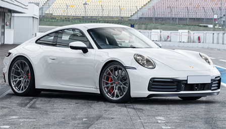 Porsche 911 (992) Alloy Wheels and Tyre Packages.