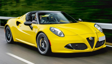 Alfa Romeo 4C Spider Alloy Wheels and Tyre Packages.