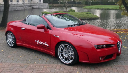 Alfa Romeo Brera Spyder Alloy Wheels and Tyre Packages.