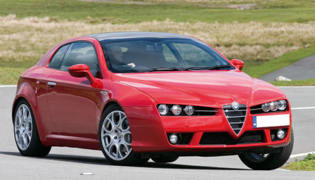 Alfa Romeo Brera Alloy Wheels and Tyre Packages.
