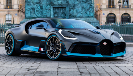 Bugatti Divo Alloy Wheels and Tyre Packages.