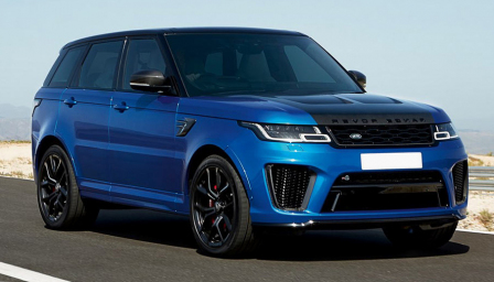 Land Rover Range Rover Sport SVR Alloy Wheels and Tyre Packages.