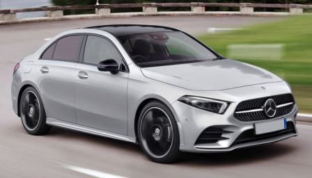 Mercedes A Class Saloon Alloy Wheels and Tyre Packages.