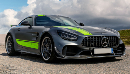 Mercedes AMG GT Alloy Wheels and Tyre Packages.