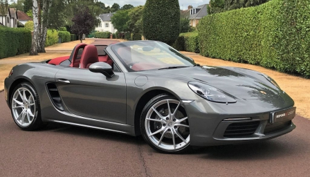 Porsche 718 Boxster Alloy Wheels and Tyre Packages.