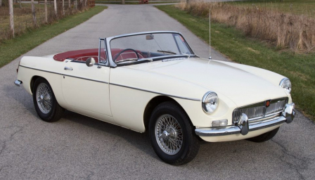 MG MGB Alloy Wheels and Tyre Packages.