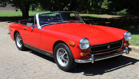 MG Midget Alloy Wheels and Tyre Packages.