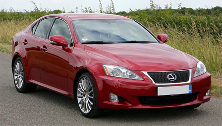Lexus IS 220 Alloy Wheels and Tyre Packages.