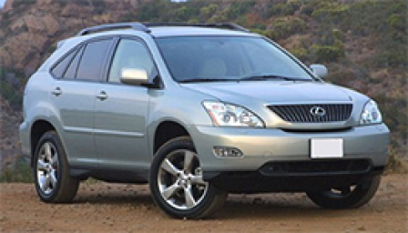 Lexus RX 330 Alloy Wheels and Tyre Packages.
