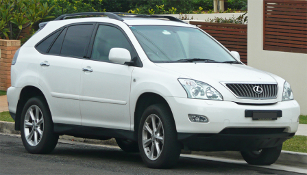 Lexus RX 350 Alloy Wheels and Tyre Packages.