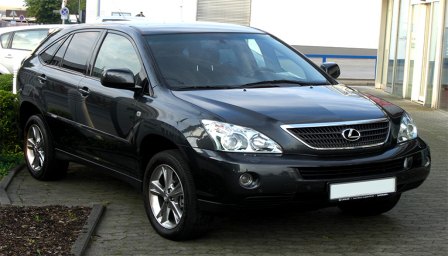 Lexus RX400 H Alloy Wheels and Tyre Packages.