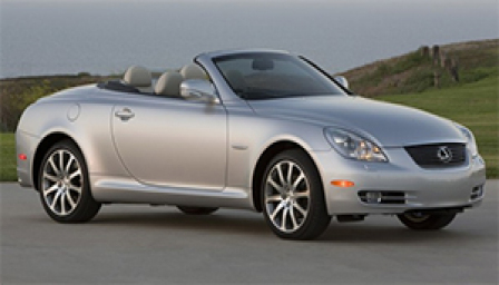 Lexus SC 430 Alloy Wheels and Tyre Packages.