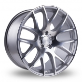 0.01 SILVER POLISHED Alloy Wheels