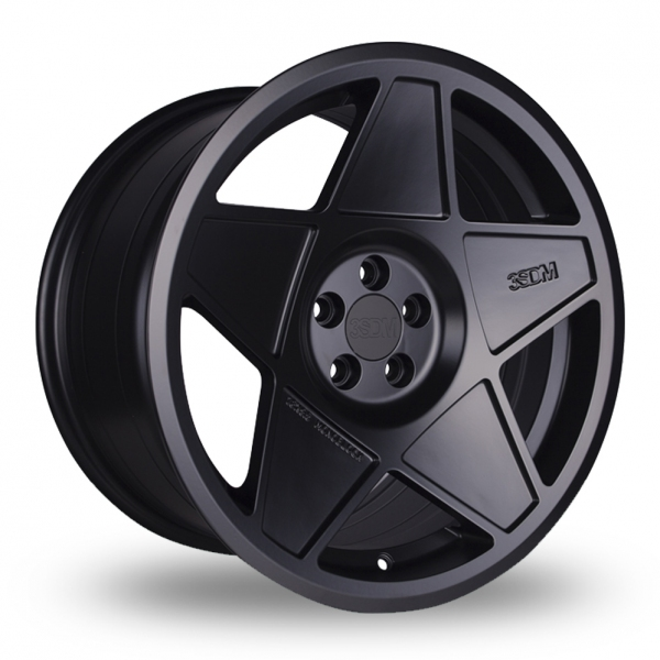 3SDM 0.05 Wider Rear (Special Offer) Black