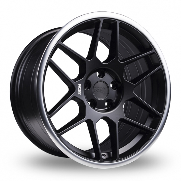 3SDM 0.09 Wider Rear Matt Black
