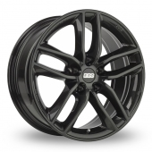 BBS SX Black Alloy Wheels