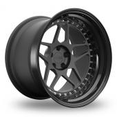 3SDM Forged 3.38 Wider Rear Custom Finish Alloy Wheels