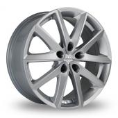 Fondmetal 7600 Silver Alloy Wheels