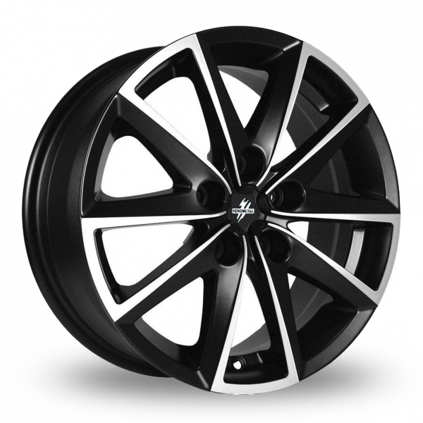 "Picture of 16"" Fondmetal 7600 Black/Machined"