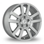 Fondmetal 7700-1 Silver Alloy Wheels