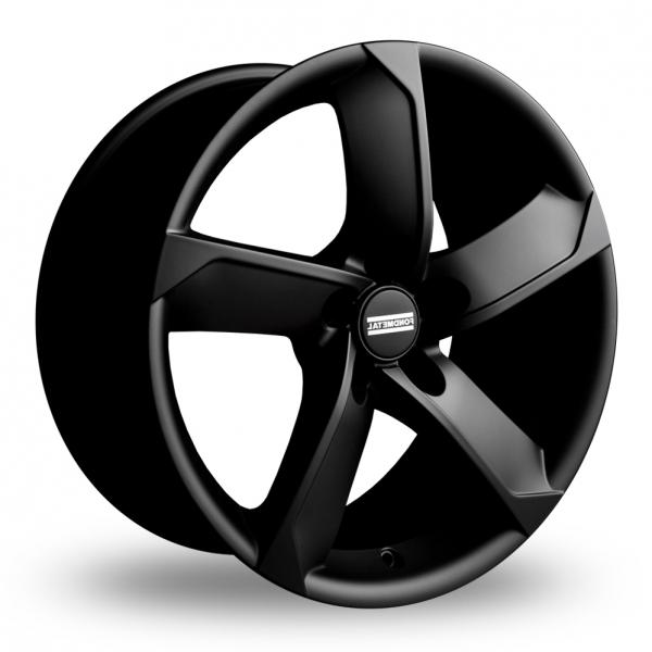 "17"" Fondmetal 7900 Matt Black Alloy Wheels"