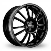 Fondmetal 9RR Black Alloy Wheels
