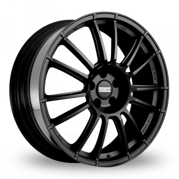 "Picture of 17"" Fondmetal 9RR Matt Black"