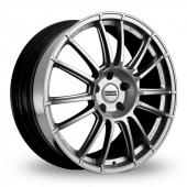 Fondmetal 9RR Silver Alloy Wheels
