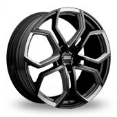 Fondmetal 9XR SuperTuning Matt Black Milled Alloy Wheels