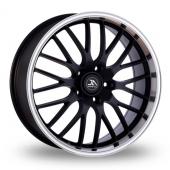 AC Wheels Hypnotic Matt Black Alloy Wheels
