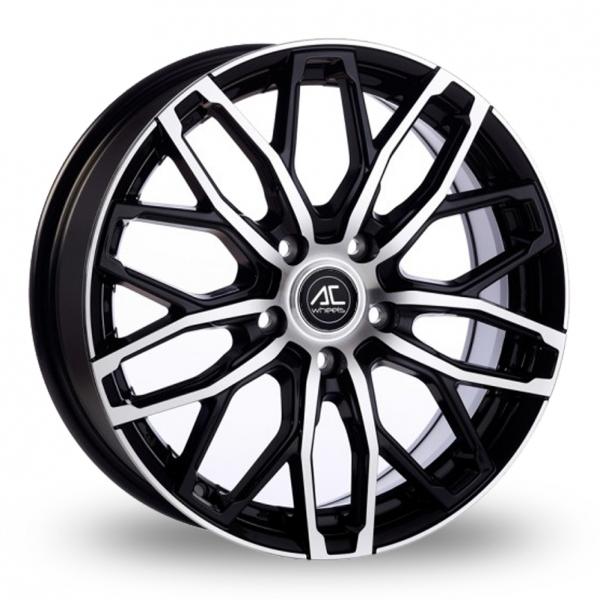 "Picture of 16"" AC Wheels Karma Black/Polished"