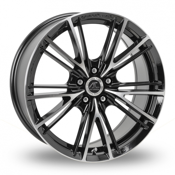 "Picture of 17"" AC Wheels FF004 Black/Polished"
