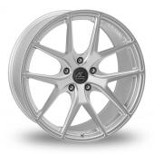 AC Wheels FF Hyper Silver Alloy Wheels