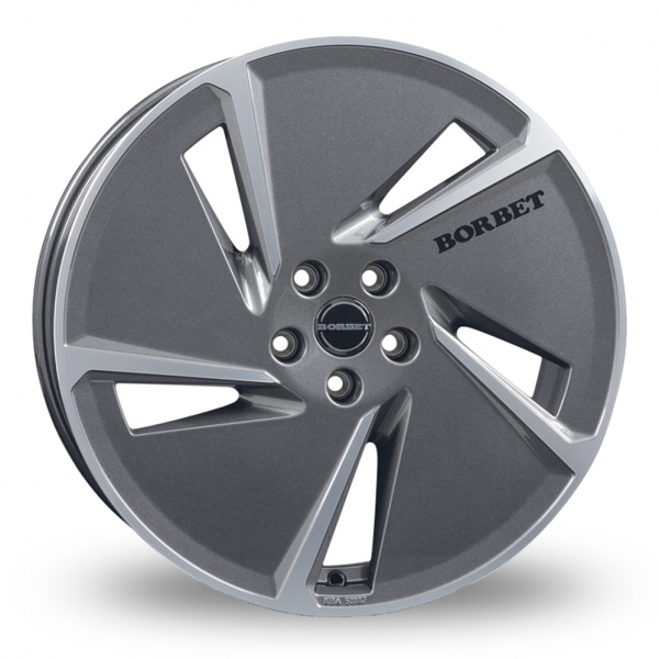 Borbet AE Anthracite Polished